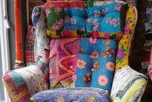 Etnico, Gipsy e Bohemien / Uno stile pieno di colori tra abbigliamento, accessori e arredamento / by Mariella Ponzo