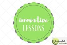 Innovative Lessons / The newest strategies for your classroom.