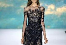 Ethereal Evening Gowns / Flowy; feminine; whimsical; romantic; light airy gowns with beautiful detailing. Haute Couture. Designers include Zuhair Murad, Elie Saab, Badgley Mischka, Abed Mahfouz, Monique Lhuillier, Jenny Packham, Naeem Khan.