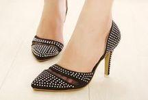 Classic Shoes / Heels / Elegant classic shoe styles; d'Orsay;  kitten heels; flats; boots, etc