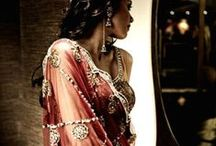 Middle Eastern & Indian Fashions / middle eastern, Moroccan, indian, dresses.