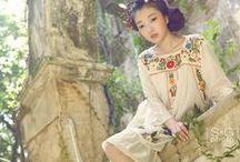 ~ Mori kei / Otome kei ~ Shabby chic / Inspired by japanese/ woodland style; otome kei, lolita, mori girl, fairy kei, shabby chic. ~ very girly ~