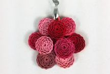 Mother's Day Gifts / Great Mother's Day gift ideas from Sweethearts and Crafts collection of paper quilled jewelry and whimsical decorations.