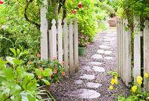 Gartenwege / Ideen und Inspirationen für Wege durch den Garten