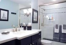 Bathrooms / Our bathroom remodels and improvements