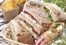 Picknick / Hübsches und Leckeres für ein Festmahl unter freiem Himmel