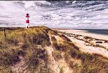 Leuchttürme / Ein Leuchtturm ist nicht nur ein Wegweiser für Schiffe, er ist auch ein Symbol für den Wind, die See und die Weite des Himmels.