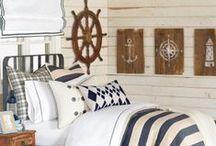 Maritimer Landhausstil / Wohnen wie am Meer