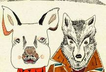 animals illlustrations / couples and singles