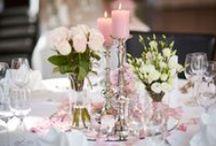 Tischdeko / Inspiration für die #Tischdeko bei der #Hochzeit