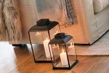 Kerzenschein / Winterzeit ist Kerzenzeit: Kleine und große Kerzen sorgen jetzt für stimmungsvolle Licht an dunklen Abenden