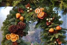 Winter- und Adventskränze / Schöne Kränze und Gestecke aus Naturmaterialien