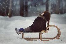 Winterzeit / Herrliche Impressionen von der kalten Jahreszeit, vom Spaziergang durch den Schnee bis zu kuscheligen Stunden vor dem Kaminfeuer