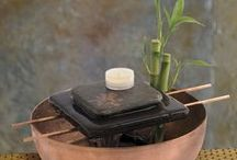 Indoor Water Features and Living Plants