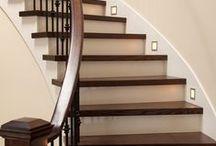 Nos réalisations - Escaliers / Chez Boiseries Métropolitaines, nous fabriquons des escaliers sur mesure pour les besoins de nos clients. Voici quelques-unes de nos réalisations.