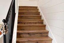 Inspirez-vous et décorez votre escalier ! / Idées de décoration pour relooker votre escalier.