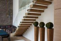 Escaliers Design / Vous avez un projet d'escalier en tête? Inspirez-vous avec ces différents looks d'escaliers.
