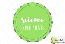 Science Experiments / Hands-on methods to let your students SEE how it works.
