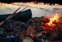 Am Lagerfeuer / Lagerfeuerstimmung für Möchtegern-Cowbows und Freiluft-Romantiker
