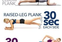 Workout, body building, muscle, yoga / Cvičení, posílení břicha, zad, boků, hýždě, nohy, stehna