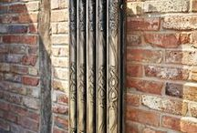 Rare and Unusual Cast Iron Radiators / From time to time we are offered very rare cast iron radiators that don't fall into our standard style categories. Whether this be an ornate specially commissioned original or an industrial one off reclaimed from a dilapidated building. Ribble radiators has one of the largest stocks of rare and unusual cast iron radiators in the country.