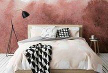 Raumtanz-Trend: Aquarell-Wände / Watercolor Walls