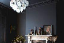Raumtanz-Trend: dunkle Wände / Keine Angst vor dunklen Farben