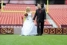 Married to The Game / The best ideas for adding a #Redskins theme to your wedding! / by Washington Redskins
