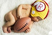 Lil' Redskins / Photos of Lil' Redskins are sent in by our fans! Show off your family's Redskins pride by sending photos to photos@redskins.com.  / by Washington Redskins