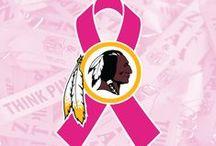 Redskins Think Pink / by Washington Redskins