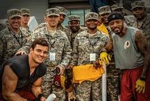 Beyond the Field / Your Redskins players in action off the field! / by Washington Redskins