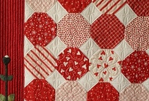 "Red Nose Day / Celebrating Red Nose Day for Comic Relief with some ""red"" quilt inspiration."