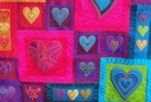 Love hearts / Heart quilt inspiration