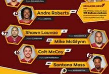 Washington Redskins Infographics / by Washington Redskins