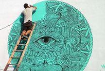 Urban Art / Public space/ outdoor/ murals/interventions