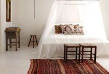 // gipsy bedrooms // / Bedrooms. Gipsy, hippie, bohemian, travelers, colorful, nomad.