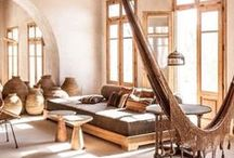 // livingrooms // / Livingrooms. Gipsy, ethnic, nomad, hippie, colorfull.