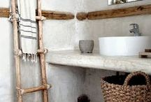 // bathrooms // / Gipsy, bohemian, colorfull bathrooms