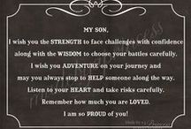 words to my son