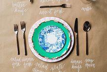 SET THE TABLE / Koken/tafelen