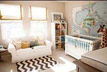 Nursery Style / Be inspired to make baby's new space stylish, fun and as unique as they are.