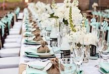 TABLE // PLACESETTING / Tablescapes, Place settings and dinner ware!