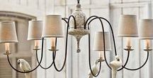 LIGHTING // LAMPS / Lighting, lamps and sconces