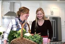 Production Photos / The Farmer & The Foodie, not just another cooking show. It's homegrown cooking made simple for any occasion.