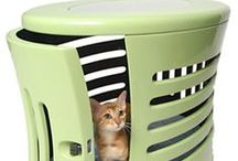 Hidden Litter Boxes / Creative ideas for disguising the litter box that won't discourage your cat from using it.