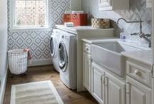 LAUNDRY // MUDROOM / Mudroom, Laundry rooms and entry way inspiration for any home decor lover