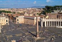 Città del Vaticano, Castel Gandolfo e Roma (Lazio) / Solo noi tre così...