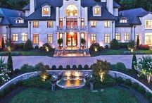Dream Homes / Beautiful classy  spectacular inspiring  enticing dream houses, homes, mansions, palaces.