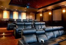 Dream Home Theatre / Beautiful classy  spectacular inspiring  enticing dream home theatres, movie rooms, media rooms, cinemas