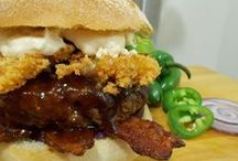 Burger Nerd Recipes / Mouthwatering, Tasty, Delicious, Yummy! Great Burger Recipes from The Burger Nerd website http://www.theburgernerd.com